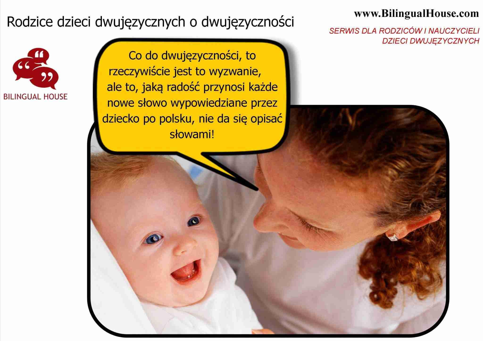 rodzice dzieci dwujezycznych o dwujezycznosci