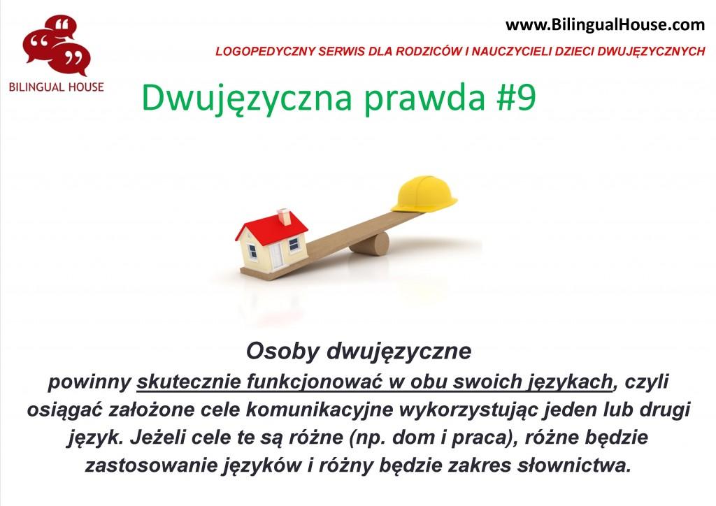 dwujęzyczna prawda 9