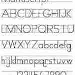 Dwujęzyczne dziecko uczy się pisać – UJEDNOLICAJMY krój liter pisanych cz.2