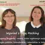 """""""Dwujęzyczność to mój język"""" – video wywiad z Olgą Mecking – naszą Europejską Mamą"""