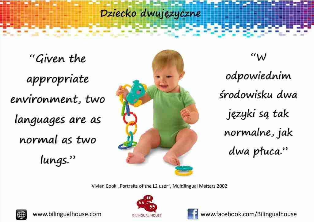 dziecko dwujęzyczne