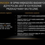 Skutecznie przekazać język polski w rodzinach polonijnych - wyniki ankiety