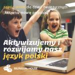 """""""Aktywnie mówię po polsku"""" konsultacje językowe online dla dzieci dwujęzycznych"""